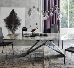 Стол обеденный Premier Keramik фабрика Cattelan Italia