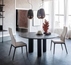 Стол обеденный Roll Wood Round фабрика Cattelan Italia
