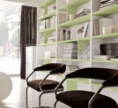 Итальянские стеллажи и полки - Модульный книжный шкаф Happy фабрика Benedetti Mobili