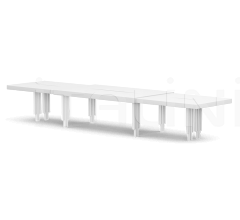 Итальянские столы для конференц зала - Стол ALBERT BRIDGE 76-0173 фабрика Christopher Guy