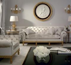Трехместный диван 1383B фабрика Roberto Giovannini