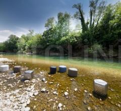 Итальянские пуфы - Пуф River Stone 903 фабрика Tonon