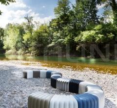 Итальянские пуфы - Пуф River Snake 903 фабрика Tonon