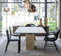 Стол обеденный Holo фабрика Kristalia