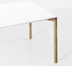 Стол обеденный Boiacca Wood фабрика Kristalia
