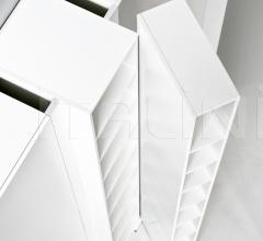 Модульный стеллаж Blio фабрика Kristalia