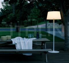 Итальянские уличные светильники - Напольный светильник Plis Outdoor фабрика Vibia