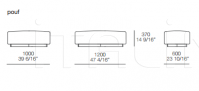 Модульный диван Soho Poliform