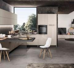 Итальянские угловые кухни - Кухня CLOE 4 фабрика Arredo3 srl