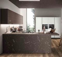 Итальянские кухонные гарнитуры - Кухня FRAME 3 фабрика Arredo3 srl