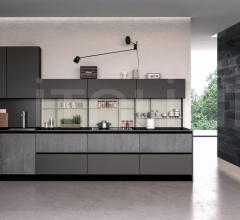 Итальянские мини-кухни - Кухня GLASS 4 фабрика Arredo3 srl