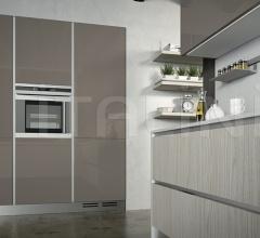 Итальянские кухни с барной стойкой - Кухня LINEA 1 фабрика Arredo3 srl
