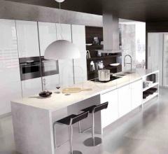 Итальянские кухни с островом - Кухня PLANA 5 фабрика Arredo3 srl