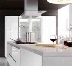 Итальянские кухни с барной стойкой - Кухня PLANA 5 фабрика Arredo3 srl