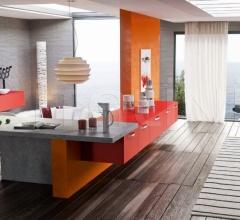 Итальянские кухни с островом - Кухня LUNA 5 фабрика Arredo3 srl