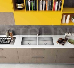 Итальянские мини-кухни - Кухня PENTHA 1 фабрика Arredo3 srl