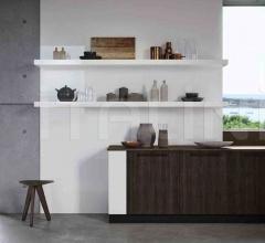 Итальянские угловые кухни - Кухня ROUND 1 фабрика Arredo3 srl