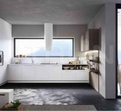Итальянские угловые кухни - Кухня ROUND 2 фабрика Arredo3 srl
