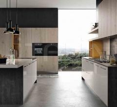 Итальянские кухни с островом - Кухня ROUND 4 фабрика Arredo3 srl