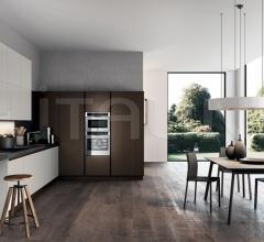 Итальянские угловые кухни - Кухня TIME 1 фабрика Arredo3 srl