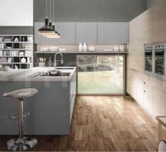 Итальянские кухни с островом - Кухня WEGA 4 фабрика Arredo3 srl