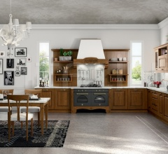 Итальянские угловые кухни - Кухня VERONA 2 фабрика Arredo3 srl