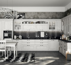 Итальянские угловые кухни - Кухня VIRGINIA 2 фабрика Arredo3 srl