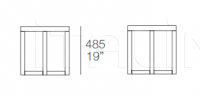 Столик Yard TY3 Poliform