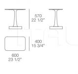 Столик Vulcano Poliform