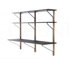 Kaari Wall Shelf with Desk - REB010