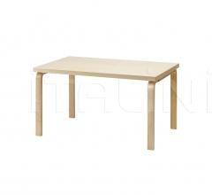 Aalto table rectangular 82B
