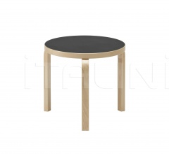 Aalto table round 90D