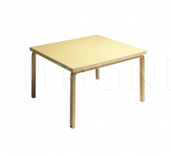 Aalto table square 84