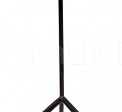 Katana Side Table, Metal and Petrified Wood AI-85F