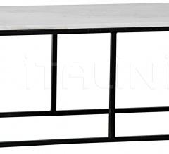 Lois Coffee Table, Metal and Quartz GTAB1002MT