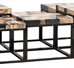 Plato Coffee Table, Metal W/ Fossil GTAB1029