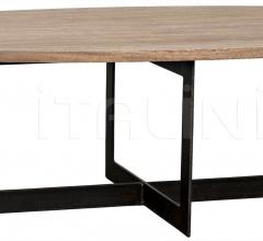 Gauge Coffee Table, Metal, Washed Walnut GTAB1039WAW