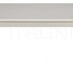 Graff Coffee Table, Solid White GTAB138SW