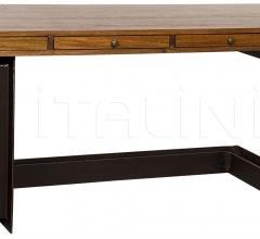 Leo Desk, Metal and Walnut GDES147MT
