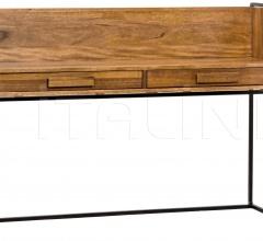 Privato Desk, Walnut and Metal GDES152MT
