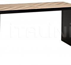 Herringbone Desk w/Metal GDES166MT