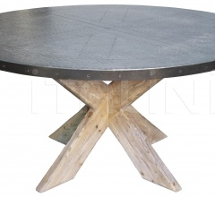"Austin Table with Zinc Top, 60"" GTAB471-60"