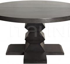 "Zig-Zag Base Dining Table, 60"", Pale GTAB472P"