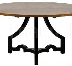 Bran Dining Table, Metal and Walnut GTAB501MT