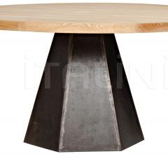 Arezo Dining Table, Metal and Elm GTAB507MT
