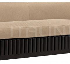 Duke 3-Seat Sofa, Hand Rubbed Black SOF278-3