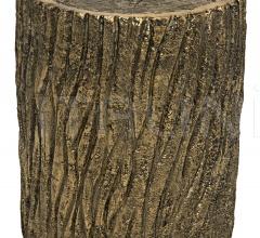 Brass Log Stool AB-221BR