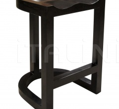 QS Saddle Counter Stool, Hand Rubbed Black GSTOOL111HBS