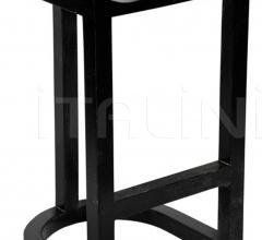 QS Saddle Bar Stool, Hand Rubbed Black GSTOOL111HBL