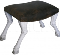 QS Claw Leg Saddle Stool GSTOOL113WW